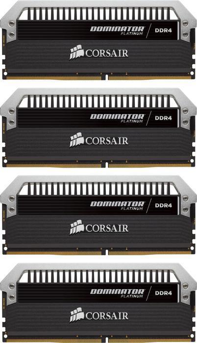 Corsair Dominator Platinum DIMM Kit 64GB, DDR4-3333, CL16-18-18-36 (CMD64GX4M4B3333C16)