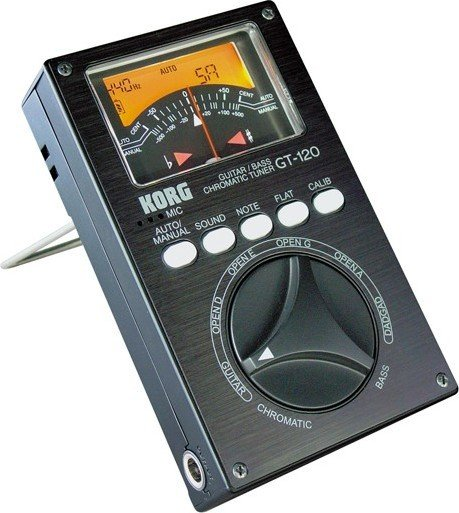 Korg GT-120 Chromatic Guitar/Bass-Tuner