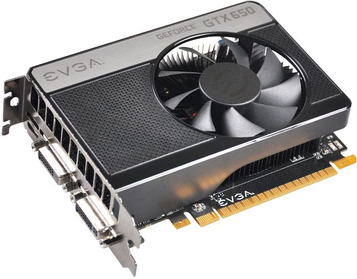 EVGA GeForce GTX 650 Superclocked, 2GB GDDR5, 2x DVI, Mini HDMI (02G-P4-2653)