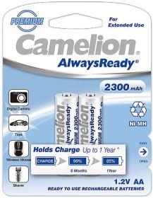 Camelion AlwaysReady Mignon AA NiMH 2300mAh, 2-pack (NH-AA2300ARBP2)