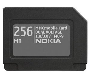 Nokia MU-9 MultiMedia Card (MMCmobile) Mobile  256MB