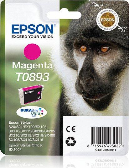 Epson T0893 tusz purpurowy (C13T08934010)