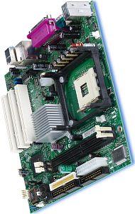 Intel D845GVSR, i845G (PC-2700 DDR)