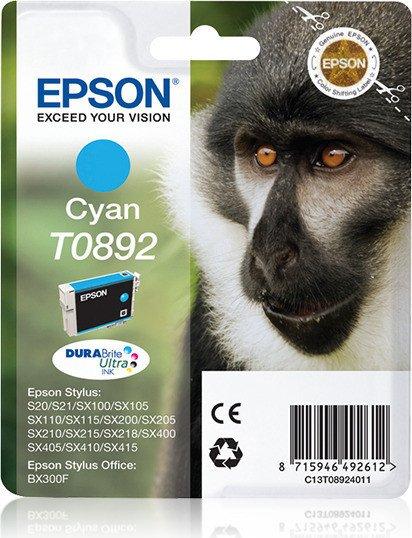Epson T0892 Tinte cyan (C13T08924010)