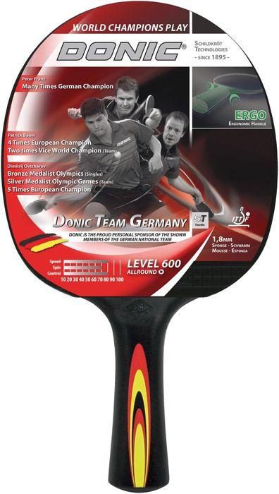 Donic Schildkröt Tischtennisschläger Team Germany 600