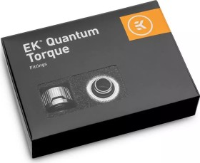"EK Water Blocks Quantum Line EK-Quantum Torque HDC 16 Fitting 1/4"" auf 16mm, vernickelt, 6er-Pack (3831109824405)"