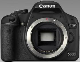 Canon EOS 500D schwarz mit Objektiv Fremdhersteller