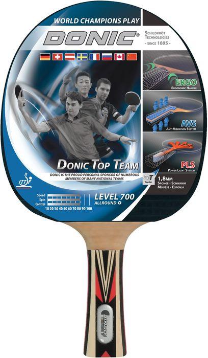 Donic Schildkröt Tischtennisschläger Top Team 700