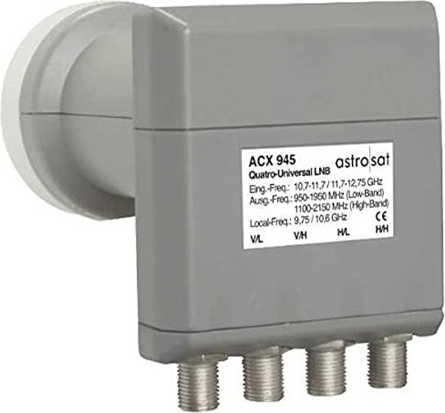 Astro ACX 945 Quattro LNB (310 945) -- via Amazon Partnerprogramm
