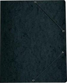 Herlitz Einschlagmappe Colorspan A4, schwarz (11199544)