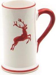 Gmundner Keramik Rubinroter Hirsch Bierkrug 300ml (0318KRBA05)