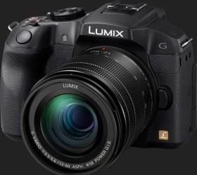 Panasonic Lumix DMC-G6 schwarz mit Objektiv Lumix G Vario 12-60mm 3.5-5.6 ASPH Power OIS (DMC-G6M)