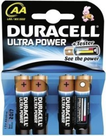 Duracell Ultra Power Mignon AA, 4er-Pack