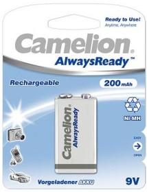 Camelion AlwaysReady 9V-Block NiMH 200mAh (NH-9V200ARBP1)
