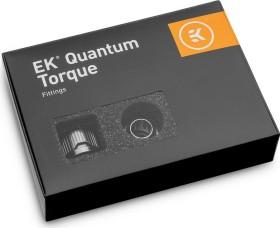 "EK Water Blocks Quantum Line EK-Quantum Torque STC 10/13 Fitting 1/4"" auf 13/10mm, schwarz vernickelt, 6er-Pack"