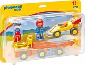 playmobil 1.2.3 - Rennauto mit Transporter (6761)