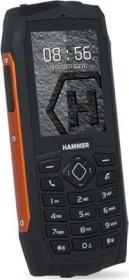myPhone Hammer 3+ schwarz/orange