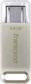 Transcend JetFlash 850 64GB, USB-C 3.0 (TS64GJF850S)