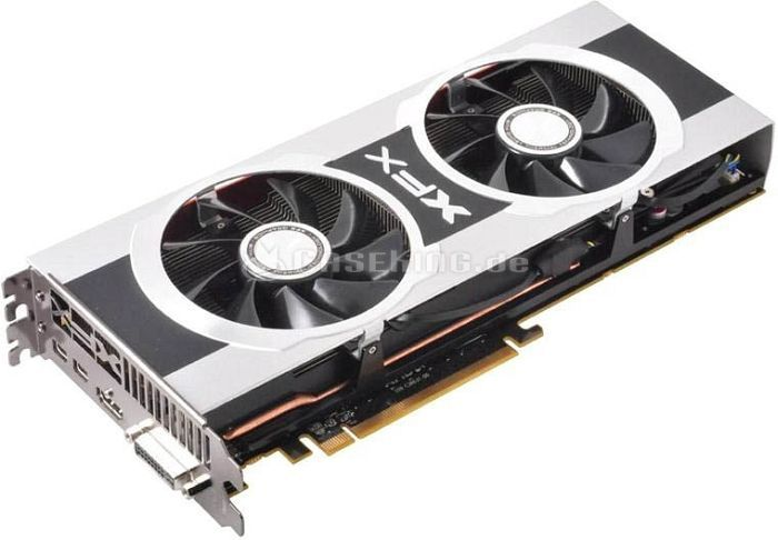 XFX Radeon HD 7970 GHz Edition, Double Dissipation Edition, 3GB GDDR5, DVI, HDMI, 2x Mini DisplayPort (FX-797G-TDFC) -- © caseking.de