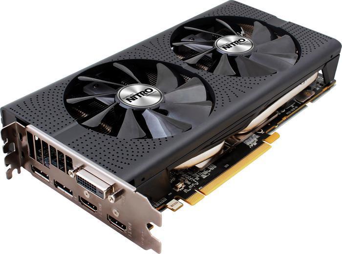 Sapphire Nitro+ Radeon RX 480 8G D5 OC (1342MHz), 8GB GDDR5, DVI, 2x HDMI, 2x DisplayPort, lite retail (11260-01-20G)
