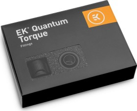 "EK Water Blocks Quantum Line EK-Quantum Torque STC 10/16 Fitting 1/4"" auf 16/10mm, schwarz, 6er-Pack (3831109824429)"