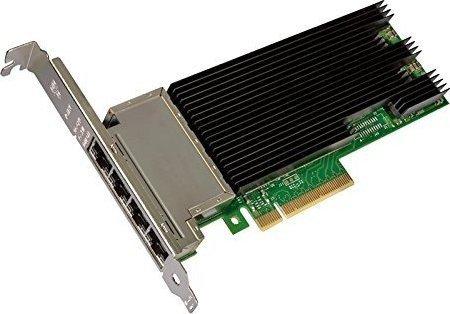 Dell Intel X710 Quad Port X710-T4, 4x RJ-45, PCIe 3.0 x8 (540-BBVB)