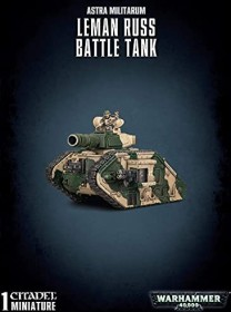 Games Workshop Warhammer 40.000 - Astra Militarum - Leman Russ Battle Tank (99120105081)