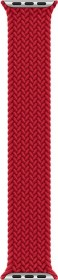 Apple 40mm (PRODUCT)RED Braided Solo Loop Size 4 (MY7J2ZM/A)