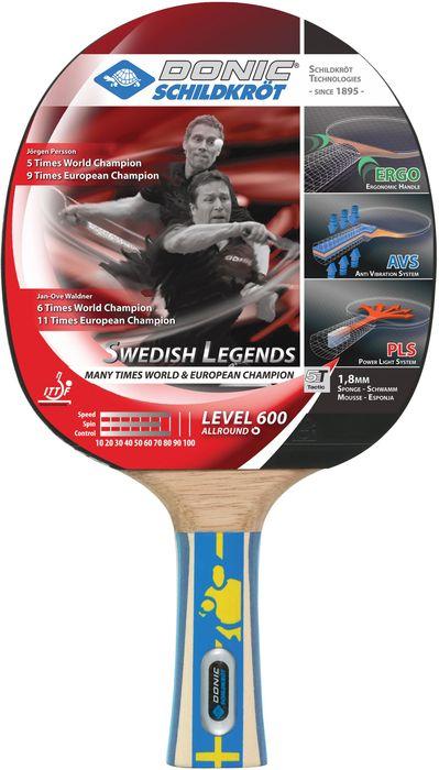 Donic Schildkröt Tischtennisschläger Swedish Legends 600