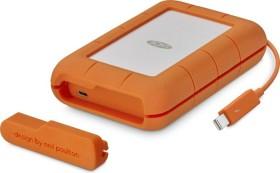 LaCie Rugged Thunderbolt USB-C 500GB [SSD], USB-C 3.0/Thunderbolt 1 (STFS500400)