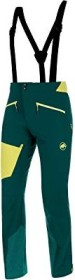 Mammut Base Jump SO Touring Hose lang dark teal/canary (Herren) (1021-00120-40011)