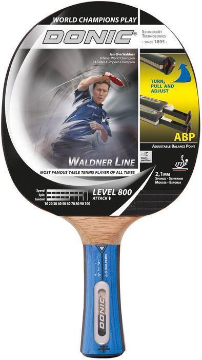 Donic Schildkröt Tischtennisschläger Waldner 800