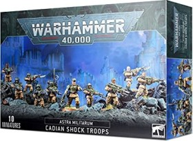 Games Workshop Warhammer 40.000 - Astra Militarum - Cadian Shock Troops (99120105080)