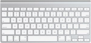 Apple Wireless Keyboard, UK (MC184B/A) (2009)