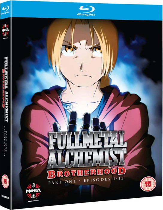 Fullmetal Alchemist Brotherhood Vol.  1 (Blu-ray) (UK) -- via Amazon Partnerprogramm