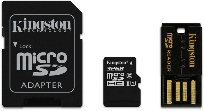Kingston microSDHC 32GB Mobility-Kit G2, Class 10 (MBLY10G2/32GB)