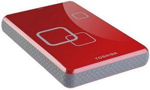 Toshiba Stor.E Art 3 red 500GB, USB 2.0 micro B
