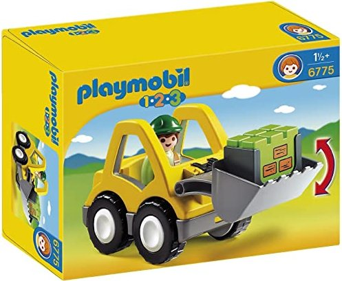 playmobil 1.2.3 - Radlader (6775) -- via Amazon Partnerprogramm