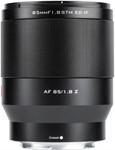 Viltrox AF 85mm 1.8 STM Mark II für Nikon Z
