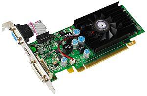 KFA² GeForce 210 (GT218-200-B1), 512MB DDR3, VGA, DVI, HDMI (21GFS4HX2YXZ)