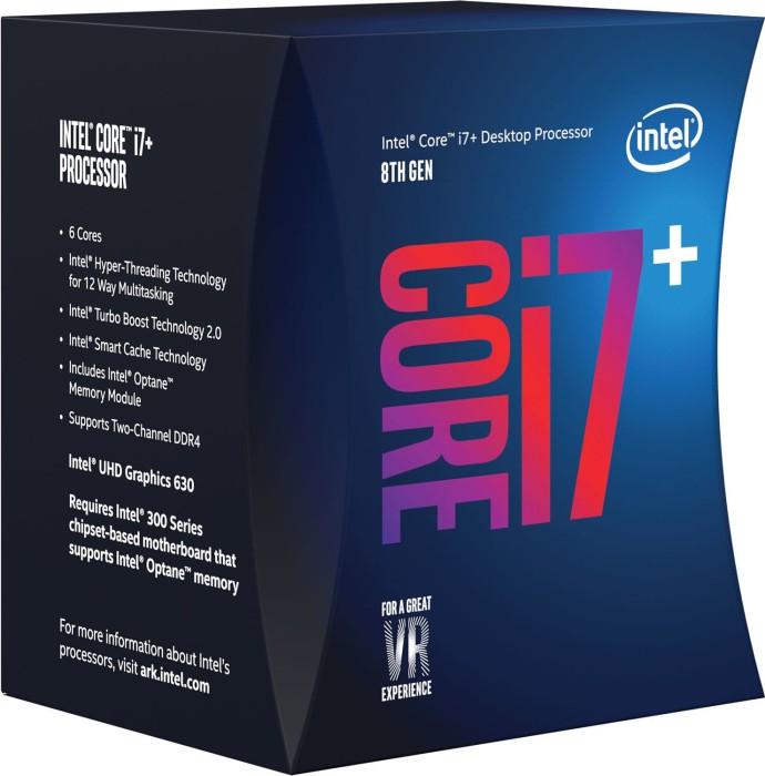 Intel Core i7+8700, 6x 3.20GHz, boxed mit Optane Memory (BO80684I78700)