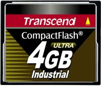 Transcend CompactFlash Card [CF] Industrial Ultra 100x 4GB (TS4GCF100I)