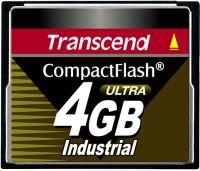 Transcend CompactFlash Card (CF) Industrial Ultra 100x 4GB (TS4GCF100I)