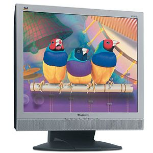 "ViewSonic VG910s 25ms silber, 19"", 1280x1024, analog/digital, Audio"