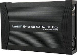 "LC-Power 525B-PS black, 5.25"", USB 2.0"