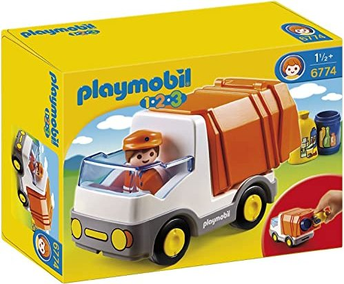 playmobil 1.2.3 - Müllauto (6774) -- via Amazon Partnerprogramm