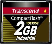 Transcend CompactFlash Card [CF] Industrial Ultra 100x 2GB (TS2GCF100I)