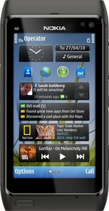Nokia N8 dark grey/black
