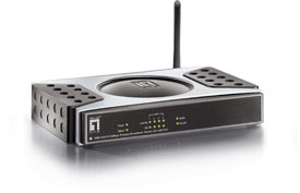 Level One WBR-3400TX, 54Mbps WLAN Router