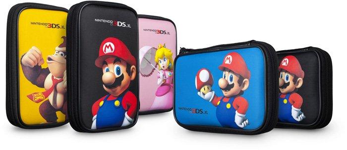 BigBen Mario Bros. bag (DS) (various colours) (3DSXL515)